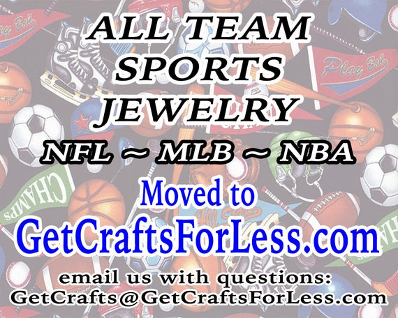 SPoRTS - NFL - MLB ~ NBA Jewelry MoVED to NeW SiTE