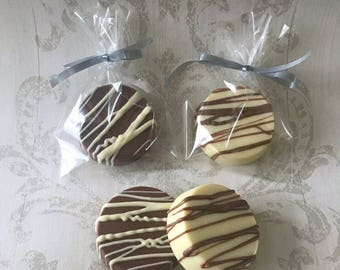 4x Chocolate Covered Oreo Classic Drizzle - gift for oreo lovers - biscuit - chocolate