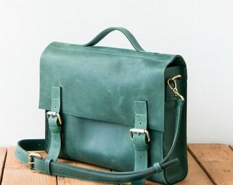 Leather Messenger bag, laptop bag, Leather ,Messenger Bag, Shoulder Bag, Leather Satchel, Leather Briefcase