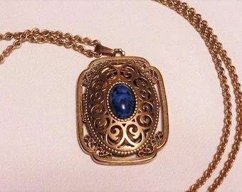 Avon Pendant Locket for Photos Costume Jewelry Necklace