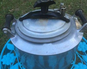 Vintage Pressure Cooker, Pot, Canning, Jelly Maker,