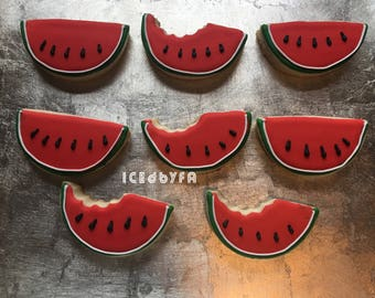 Watermelon cookies | Sugar Cookies