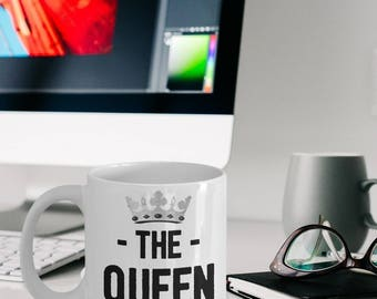 Queen Mug - Queen Gifts - Queen Coffee Mug - The Queen Is Always Right - Girlfriend Gift - Wife Gift
