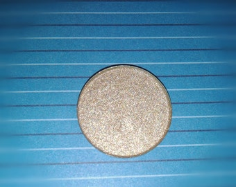 Antique Silver ~ Mineral Eyeshadow. Natural Pressed, Loose or Refill Palette Pan. Mica Eye Shadow