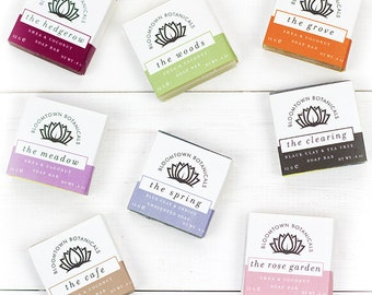 Wedding Favour Soaps - Natural Soap - Handmade Soap - Mini Soaps - Palm Oil Free Soap - Vegan Soaps -  Cruelty-Free Beauty - Bloomtown