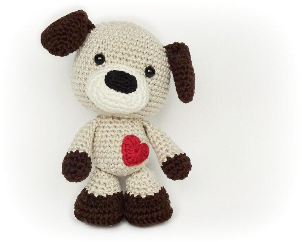 Amigurumi Tips : Sammy the puppy crochet amigurumi in english
