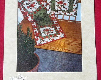 Table Runner Pattern, Placemat Pattern - Checkerboard Square