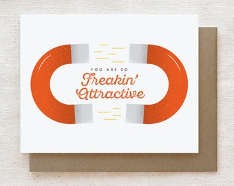 Funny Valentine Card, Anniversary Card, Love Card, Card for Boyfriend, Card for Husband, Card for Him, Love Card for Wife - Attractive