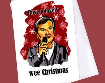 Happy christmas / cheesy christmas card / funny christmas card / funny christmas / irish christmas card / daniel o donnell /cheesy / irish