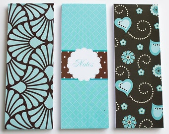 mint notebook set of 3 (lined)