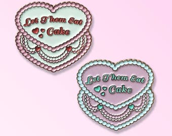 Let them eat cake pin Marie Antoinette queen rococo Versailles