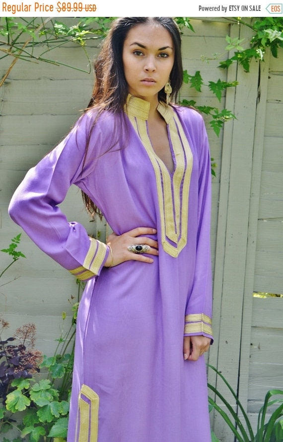 Kaftan Sale 20% Off/ Mariam Style Lilac Caftan Kaftan- perfect for Christmas gifts, loungewear,resortwear, lounge, birthday gift, beach cove