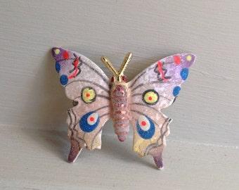 Vintage Butterfly brooch 1970s
