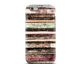 Stripe iPhone 6 case, iPhone 6 Plus, iPhone case, iPhone 7 case, iPhone 6s case, iPhone 6s plus personalized iPhone, phone case - Watercolor