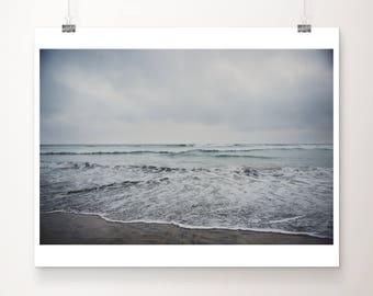 Oceanside photograph beach photograph California photograph pacific ocean photograph san diego photograph coastal print beach print