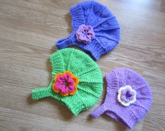 Knit Aviator Hat