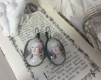 Earrings ' ear lever Marie-Antoinette