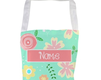 Personalised Printed Aprons for Women Funny Vintage Spring Flowers Baking Gifts Kitchen Apron