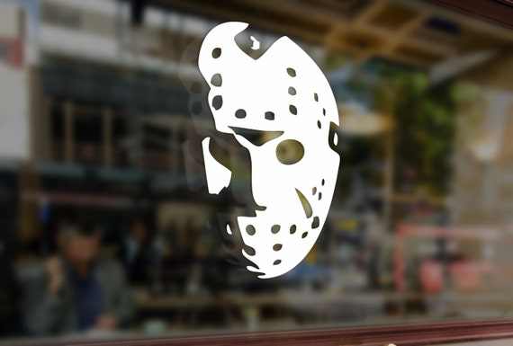 Jason Voorhees Friday The 13th Vinyl Stickers Funny Decals