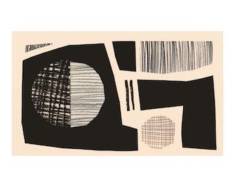 Rigoletto 2. Open Edition Print. Abstract Print.