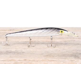 Fishing Lure / Fishing Decor / Rebel Fastrac Vintage Fishing Lure / Antique Fishing Lures / Plastic Lure / Dad Fishing Lure Mens Gift