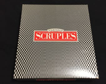 A Question Of Scruples Adult Conversation Party Game Vintage 1986 Complete
