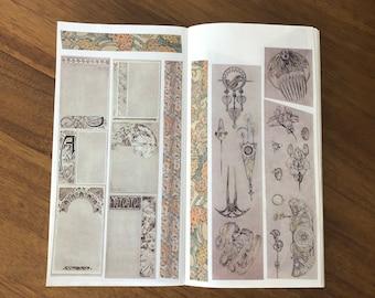 SAMPLE SET Alphonse Mucha Washi Tapes