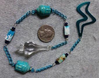Blue Buddha Pendulum Divination Tool