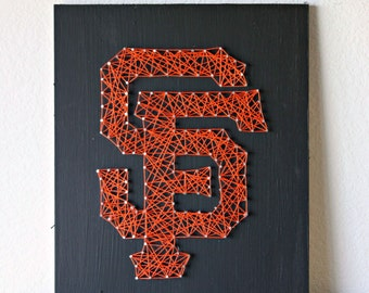 San Francisco Giants String Art, San Francisco Art, San Francisco Giants Baby