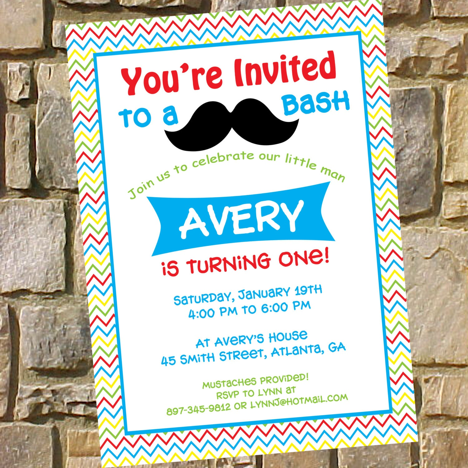 Printable mustache birthday party invitation diy mustache zoom filmwisefo Image collections