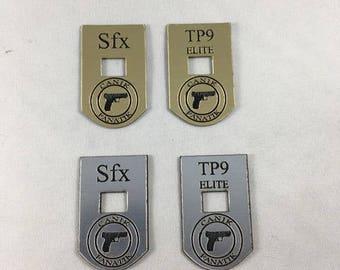 Canik Fanatik - Canik TP9 - Base Plates - Canik Guns - SFX - SF Elite - Canik Accessories