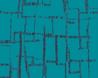 EXTRA 20 30% OFF  Art Gallery Fabrics - Imprint Maze Blues