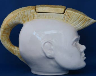 Swineside Ceramics Punk Rocker Teapot