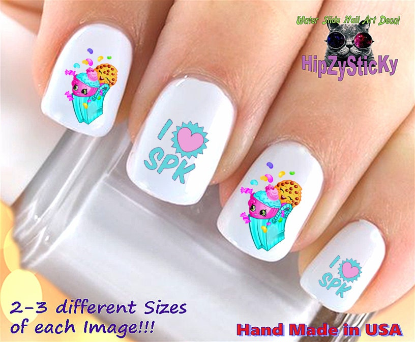 Nail Art Shopkins Season 3 \