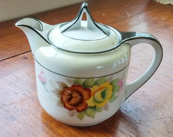 Vintage Noritake Morimura Personal Small Teapot Tea Pot