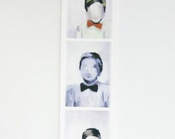 mini photobooth print