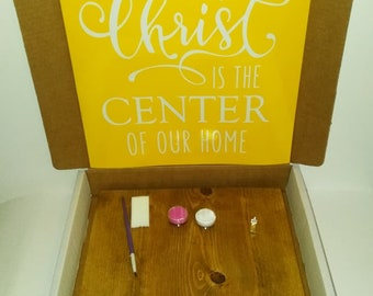 Christ is the Center of Our Home Kreative Kit