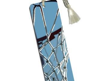 Basketball Hoop Dreaming Printed Bookmark With Tassel