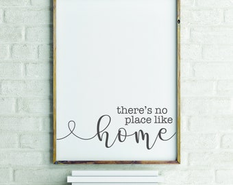 There's No Place Like Home - Poster Print