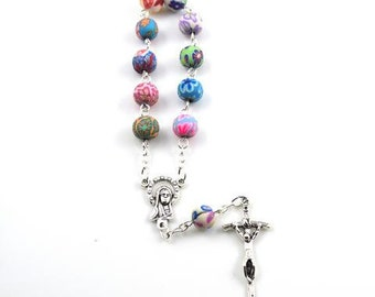 Colourful Unique Decade Rosary