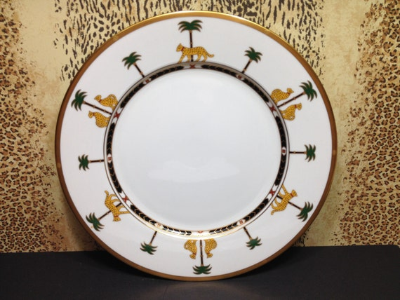 & Christian Dior Casablanca vintage china plate/ plate/ china/