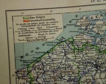 Charleroi map Etsy