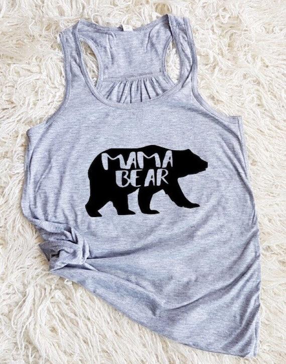 Mama Bear Tank Mama Bear Shirt Mama Bear Top Mama Bear Baby