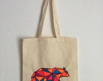 Canvas tote bag - Big Bear