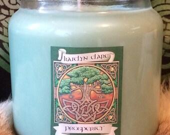 Prosperity Magic soy wax candle 16 ounce