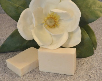 Magnolia Soap, Handmade Bar Soap