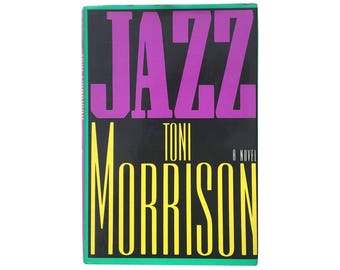 Jazz by Toni Morrison (1992) - First Edition