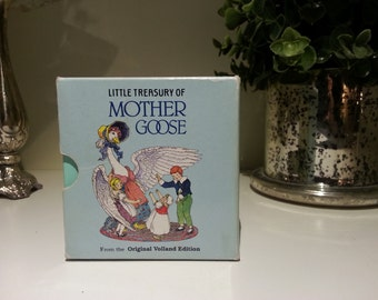 1984 Little Treasury of Mother Goose by Arlington House, Inc