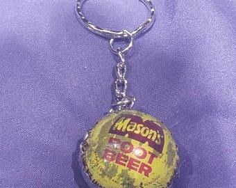 Bottle Cap Keychain #054