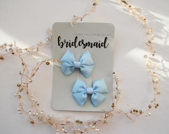 Thank you for being my bridesmaid flower girl maid of honour matron of honor